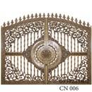 cửa cổng nhôm đúc cn 006