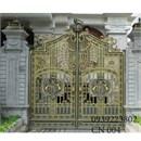 cửa cổng nhôm đúc cn 004