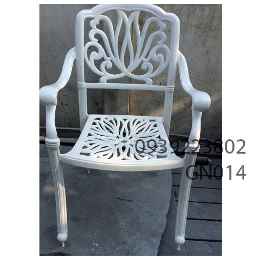 Bảo hành bàn ghế cafe sân vườn ngoài trời gang nhôm đúc H3