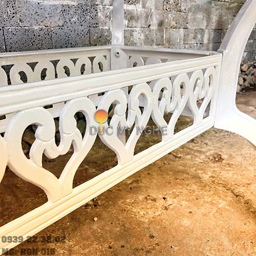 Bàn Ghế Ăn Ngoài Trời Nhôm Đúc - Biệt Thự Nhà Hàng BGN016 - Hình 12