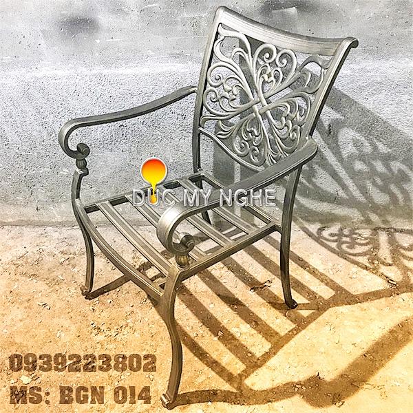 Bàn Ghế Hồ Bơi Nhôm Đúc Ngoài Trời - Khách Sạn Resort BGN014 - Hình 6