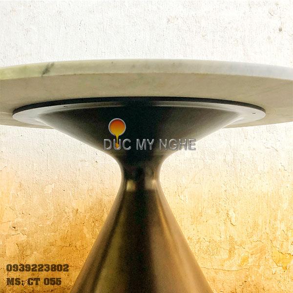Chân Bàn Ăn Nhà Hàng Cafe Nhôm Đúc Kiểu Tulip Mẫu Mới CT055 - Hình 9