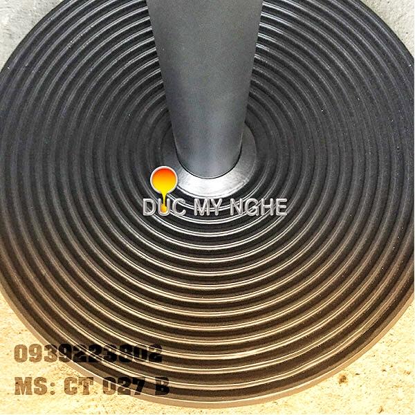 Chân Bàn Ăn Nhà Hàng Sắt Ống Đế Tròn 650mm Gang Đúc CT027B - Hình 3