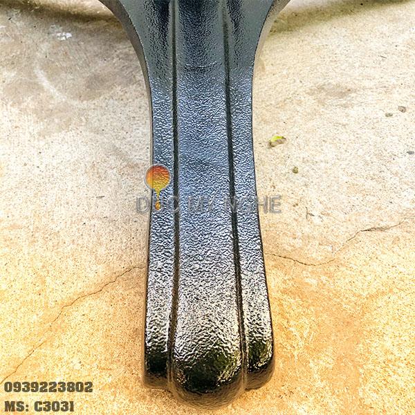 Chân Bàn Cà Phê Gang Đúc Sắt Ống 3 Chân Ngoài Trời Đẹp Quán Ăn Trà Sữa C3031 - Hình 4