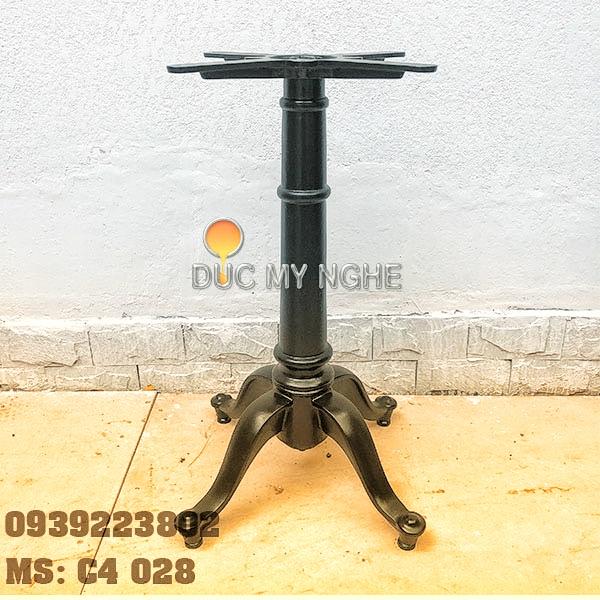 Chân bàn cafe 4 chân kiểu dáng cổ điển Gang đúc C4028 - Hình 1