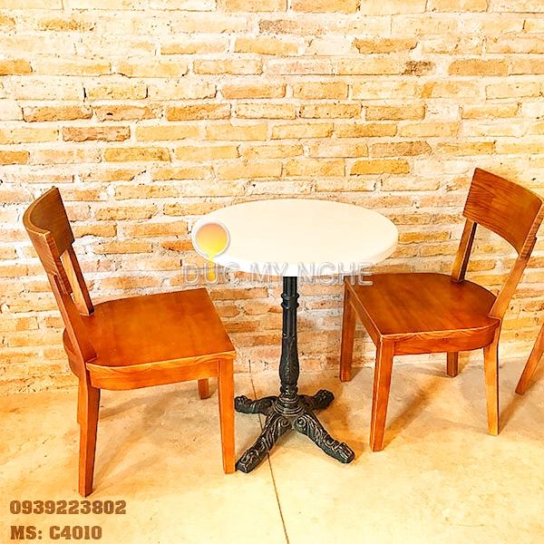 Chân Bàn Coffee 4 Chân Gang Đúc - Nhà Hàng Trà Sữa C4010 - Hình 13
