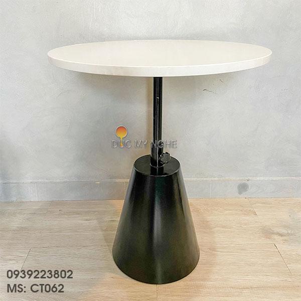 Chân Bàn Đôn Cafe Sofa Sắt Tăng Cao Thấp Kiểu Industrial CT062 - Hình 1