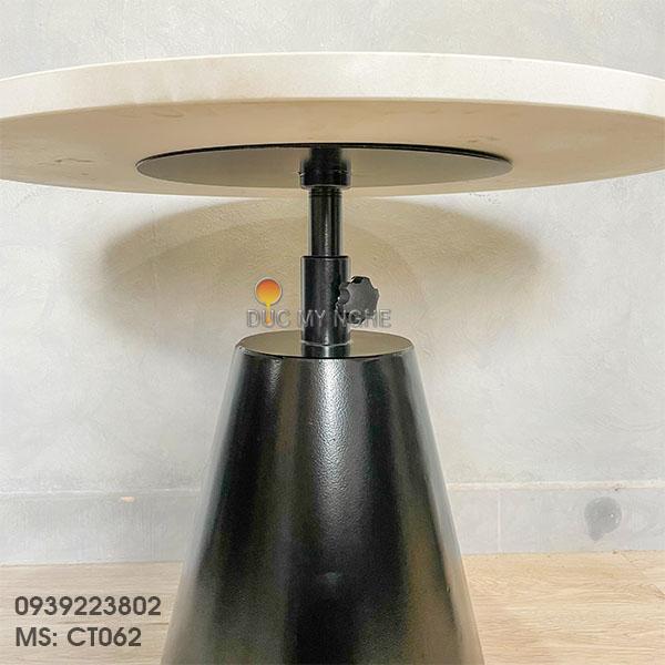 Chân Bàn Đôn Cafe Sofa Sắt Tăng Cao Thấp Kiểu Industrial CT062 - Hình 6