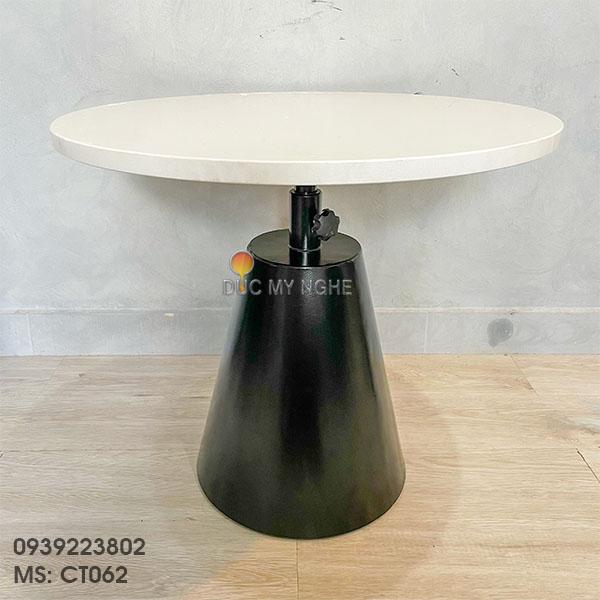 Chân Bàn Đôn Cafe Sofa Sắt Tăng Cao Thấp Kiểu Industrial CT062 - Hình 7