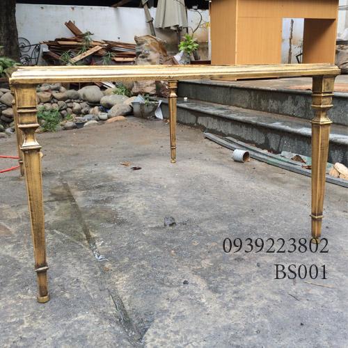 Chân Bàn Sofa Nhôm Đúc Gia Đình Nhà Hàng Khách Sạn BS001 - Hình 2