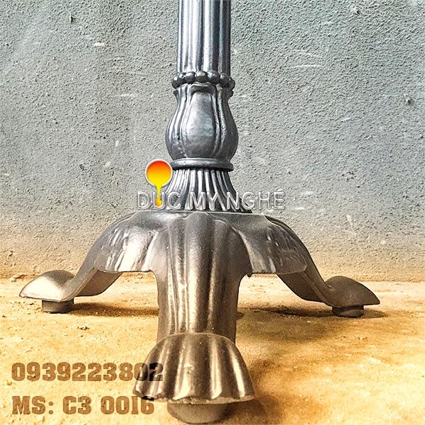 Chân Bàn Gang Đúc Ngoài Trời Đẹp Trà Sữa TocoToco 3 Chân   Nhà Hàng Cafe Ở Hà Nội C3016 - Hình 8