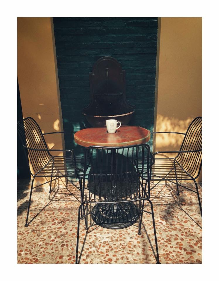 Chân Bàn Tròn Cafe Gang Đúc Cổ Điển - Nhà Hàng Quán Ăn Ở Tphcm CT025 - Hình 11