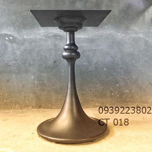 Chân Bàn Tulip Cafe Bistro Nhà Hàng - Gang Đúc CT018 - Hình 4