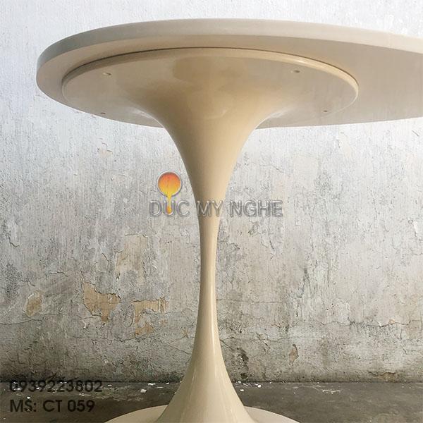 Chân Bàn Tulip Cafe - Trà Nhôm Đúc Nhà Hàng Khách Sạn Cao Cấp CT059 - Hình 2