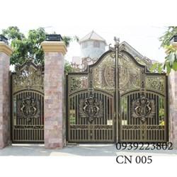 Cửa cổng Nhôm đúc CN005 - Hình 1