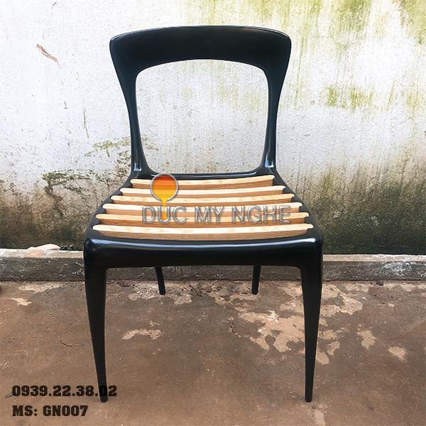 Ghế Cafe Hợp Kim Nhôm Đúc Ngoài Trời - Nhà Hàng GN007 - Hình 2