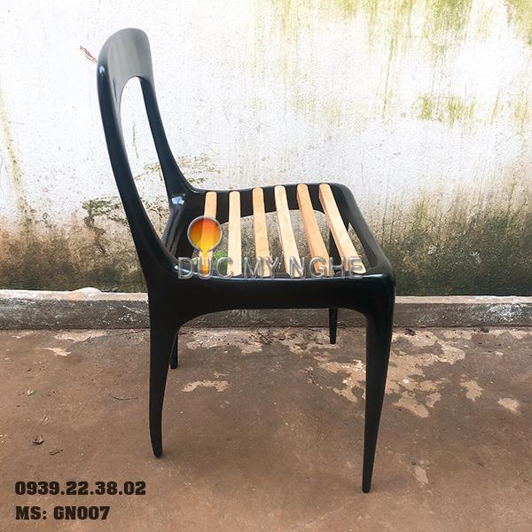 Ghế Cafe Hợp Kim Nhôm Đúc Ngoài Trời - Nhà Hàng GN007 - Hình 3