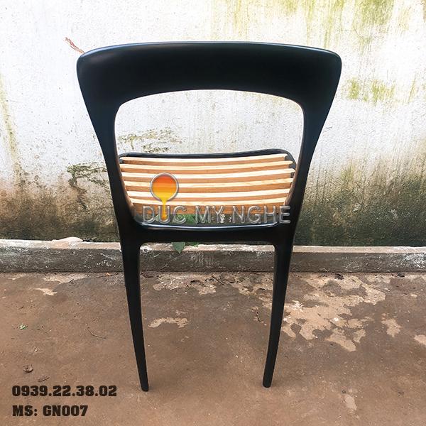 Ghế Cafe Hợp Kim Nhôm Đúc Ngoài Trời - Nhà Hàng GN007 - Hình 5