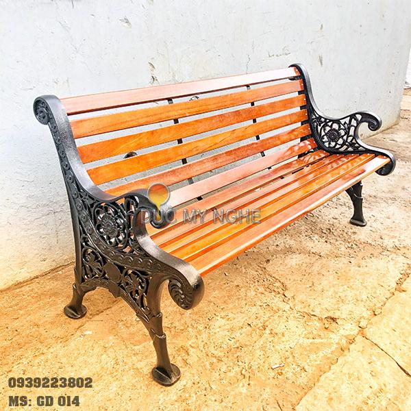 Ghế Công Viên Gang Đúc Gỗ Ngoài Trời Mẫu Mới Đẹp Nhất Ở Tphcm GD014 - Hình 10