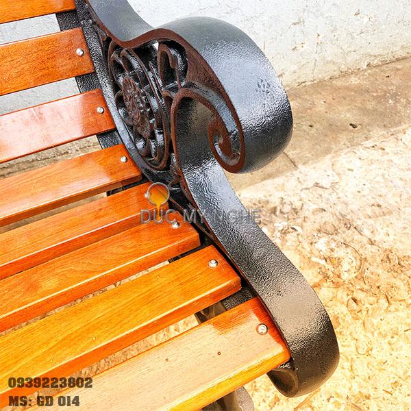 Ghế Công Viên Gang Đúc Gỗ Ngoài Trời Mẫu Mới Đẹp Nhất Ở Tphcm GD014 - Hình 17
