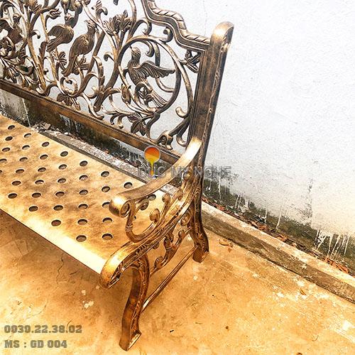 Ghế Băng Công Viên Nhôm Đúc Ngoài Trời Sân Vườn Đẹp Uy Tín Nhất Tphcm GD004 - Hình 7
