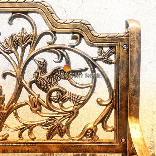 Ghế Băng Công Viên Nhôm Đúc Ngoài Trời Sân Vườn Đẹp Uy Tín Nhất Tphcm GD004 - Hình 8