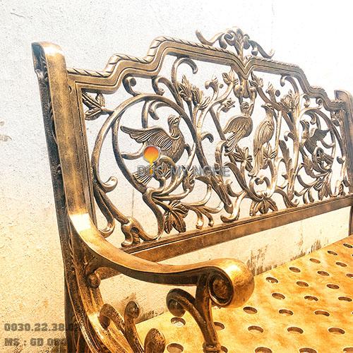 Ghế Băng Công Viên Nhôm Đúc Ngoài Trời Sân Vườn Đẹp Uy Tín Nhất Tphcm GD004 - Hình 10