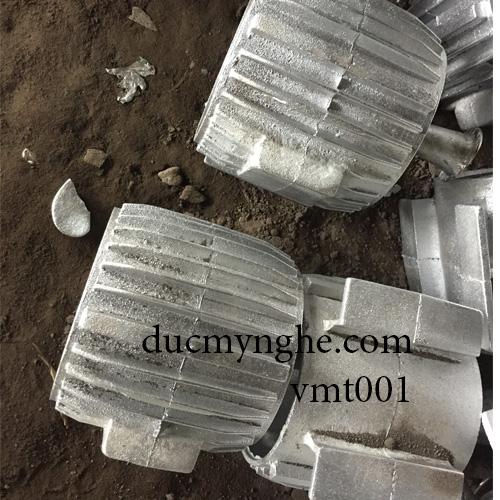 Vỏ chi tiết mô tơ máy đúc bằng nhôm làm theo thiết kế sản xuất DN004 - Hình 2