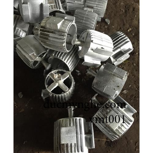 Vỏ chi tiết mô tơ máy đúc bằng nhôm làm theo thiết kế sản xuất DN004 - Hình 4