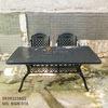 Bàn Ghế Ăn Ngoài Trời Nhôm Đúc - Biệt Thự Nhà Hàng BGN016 - Hình 17