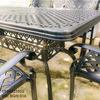 Bàn Ghế Ăn Ngoài Trời Nhôm Đúc - Biệt Thự Nhà Hàng BGN016 - Hình 22