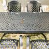 Bàn Ghế Ăn Ngoài Trời Nhôm Đúc - Biệt Thự Nhà Hàng BGN016 - Hình 24