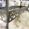 Bàn Ghế Ăn Ngoài Trời Nhôm Đúc - Biệt Thự Nhà Hàng BGN016 - Hình 25