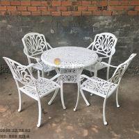 Bàn Ghế Hợp Kim Nhôm Đúc Ngoài Trời - Cafe Nhà Hàng BGN017A