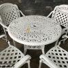 Bàn Ghế Nhôm Đúc Sân Vườn Ngoài Trời - Cafe Nhà Hàng BGN017B - Hình 2