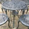 Bàn Ghế Nhôm Đúc Ngoài Trời Giá Rẻ - Cafe Gia Đình BGN015 - Hình 20