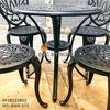 Bàn Ghế Nhôm Đúc Ngoài Trời Giá Rẻ - Cafe Gia Đình BGN015 - Hình 14
