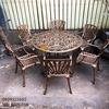 Bàn Ghế Nhôm Đúc Ngoài Trời Sân Vườn Biệt Thự Cao Cấp BGN 018 - Hình 4