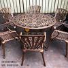 Bàn Ghế Nhôm Đúc Ngoài Trời Sân Vườn Biệt Thự Cao Cấp BGN 018 - Hình 5