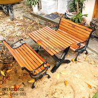 Bàn Ghế Sân Vườn Gang Đúc Ngoài Trời Cao Cấp Đẹp Ở Hcm BGG 002