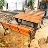 Bàn Ghế Sân Vườn Gang Đúc Ngoài Trời Cao Cấp Đẹp Ở Hcm BGG 002 - Hình 3
