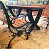 Bàn Ghế Sân Vườn Gang Đúc Ngoài Trời Cao Cấp Đẹp Ở Hcm BGG 002 - Hình 6