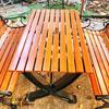 Bàn Ghế Sân Vườn Gang Đúc Ngoài Trời Cao Cấp Đẹp Ở Hcm BGG 002 - Hình 10