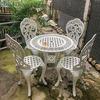 Bàn Ghế Sân Vườn Nhôm Đúc Cổ Điển - Khách Sạn Biệt Thự BGN003 - Hình 12