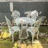 Bàn Ghế Sân Vườn Nhôm Đúc Cổ Điển - Khách Sạn Biệt Thự BGN003 - Hình 13