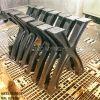 Chân Bàn Ăn Gỗ Nguyên Tấm Chữ X Gang Đúc Khung Sắt CA020 - Hình 4