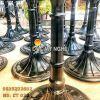 Chân Bàn Ăn Nhà Hàng Cafe - Đế Tròn 500mm Gang Đúc CT039 - Hình 7