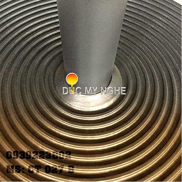 Chân Bàn Ăn Nhà Hàng Sắt Ống Đế Tròn 650mm Gang Đúc CT027B