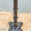 Chân Bàn Gang Đúc Ngoài Trời Cafe RuNam Bistro Gắn Mặt Đá Marble Viền Đồng C4040 - Hình 6