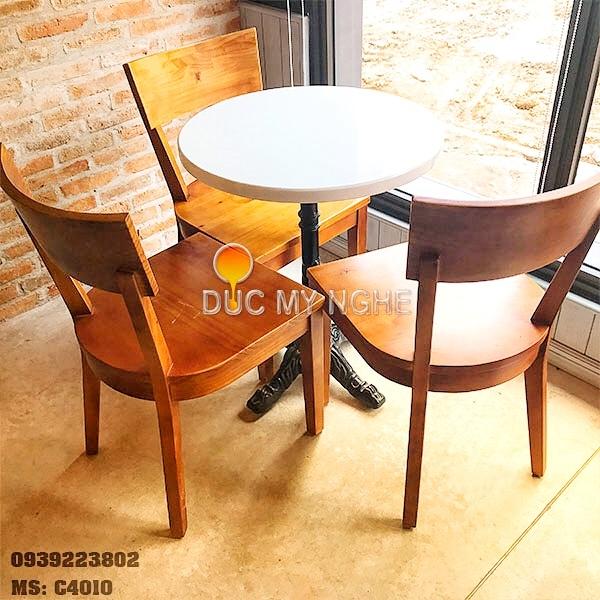 Chân Bàn Coffee 4 Chân Gang Đúc - Nhà Hàng Trà Sữa C4010